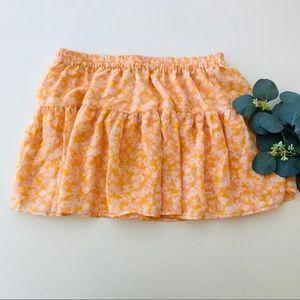 Volcom So Serious Floral Skirt
